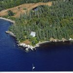 Photo: Gull's view of Parker Point Cottage