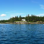 Photo: View of Parker Point Cottage from the water