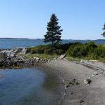 Photo: View of the beach at Parker Point Cottage