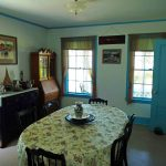 Photo: View of the dining room at Parker Point Cottage