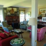 Photo: View of the living room at Parker Point Cottage