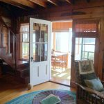Photo: View to the porch at Loon Gull